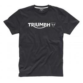 T SHIRT TRIUMPH LOGO NOIR