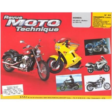 REVUE TECHNIQUE 750/900 TRIDENT DAYTONA 95-01