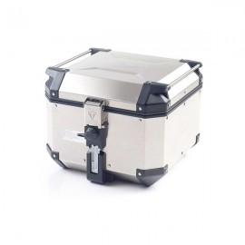 TOP-CASE EN ALUMINIUM EXPEDITION - ARGENTÉ