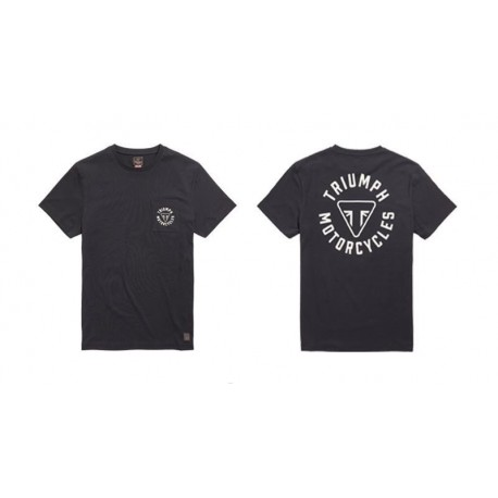 T-SHIRT NEWLYN NOIR